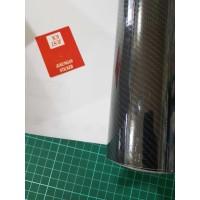 Stiker Maxdecal Carbon 6D - Skotlet Max decal Karbon 6D - Black Silver