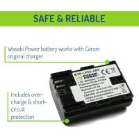 Wasabi Power Baterai Canon LP-E6, LP-E6N, EOS 5D, 6D, 7D, 60D, 70D