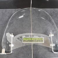 visor windshield universal untuk semua motor vespa piaggio vario mio s