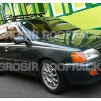 Roof Rack Rak Mobil Tambahan Bagasi Atas komplit dengan CrossBar persi