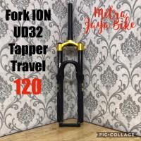 Fork ION UD32 27 5 Tapper Travel 120 Air Rebound GOLD Matte Diskon