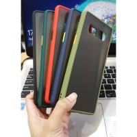 Samsung Galaxy Note 8 Note 9 Bumper Case Silicon Doft Hardcase Warna