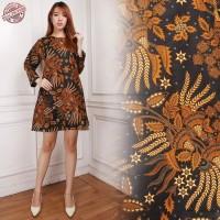 Tunik Batik Eka Short Dress Wanita
