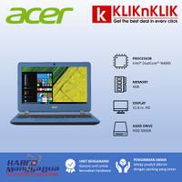 ACER Aspire A311-N4000-4GB-500GB-Win10 Blue - 36657