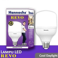 Hannochs Revo 23 Watt LED Bohlam Lampu Kapsul Daylight Putih 23W Bola