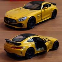 Diecast - Miniatur Mercedes Benz AMG GTR Welly
