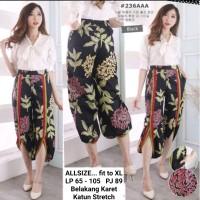 Celana Batik Wanita / Celana Panjang Wanita / Celana Hijab Style