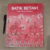 Batik Betawi Koleksi Hartono Sumarsono