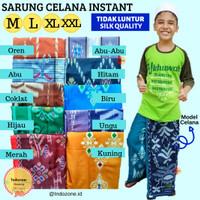 BEST QUALITY Sarung Instant Celana Anak Usia 1-10 Tahun/ Songkok Cowok