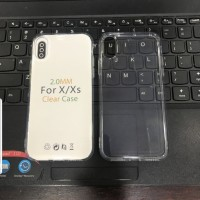 iphone X Xs Silicon Case Transfaran Jelly Case Clear Bening