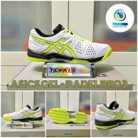 Sepatu Tenis ASICS GEL - PADEL PRO 3 - White/Yelloww