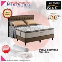 Springbed King Koil World Endorsed 120 x 200 Full Set Kasur Spring bed