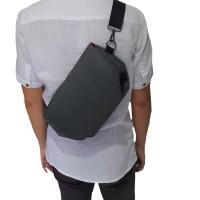 Tas selempang/sling bag modern unisex Grey