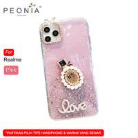 Peonia Oppo Realme 3 Realme 3i Soft Case Casing Parfum N5