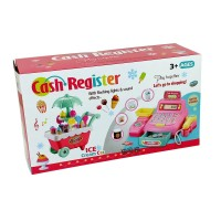 SALE AS IS Mainan Anak Cash Register Ice Cream Car Gerobak Mesin Kasir