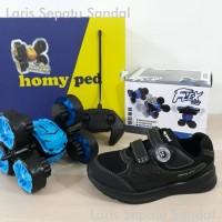 Sepatu Anak Homyped dan Hadiah Mobil Flex Car 2020 - Full Hitam