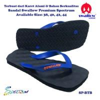 Sandal Swallow Premium Spectrum Pria Black – Tali Biru
