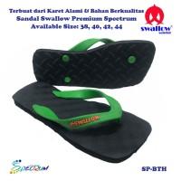 Sandal Swallow Premium Spectrum Pria Black – Tali Hijau