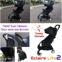 Stroller Eclaire Lite 2 with Automatic Button / Cabin Size Lipat 008A