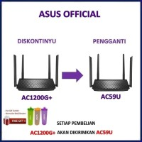ASUS RT-AC1200G+ Dual Band Wireless Router AC1200