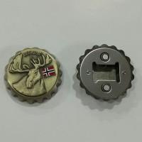 Magnet kulkas bukaan botol dari negara Norway - Norwegia