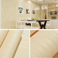 Polos kuning tekstur salur 45 cm x 10 mtr ~ Wallpaper sticker dinding
