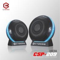 Cyborg Gaming Speaker CSP-209 XIBERIA Mini Portable 2.0 Surround Sound