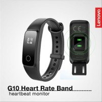 Lenovo G10 Heart Rate Band Smartwatch - Hitam [Original