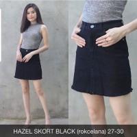 hazel skort BLACK - rok celana jeans wanita