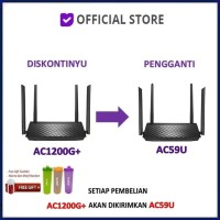 ASUS RT-AC1200G+ AC1200 Dual Band Wireless Router