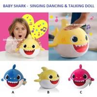 Mainan|Anak|Bayi|Boneka|Shark|Musik|Bicara|Kado|Hadiah|Ultah|Lahiran