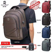 Polo Trands Backpack 36169 Kapasitas 23 L - Tas Ransel - Tas Punggung