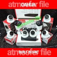 PAKET CCTV DAHUA 8CH 2MP BUILT IN MIC + KABEL 100M PSU BOX ORIGINAL