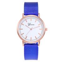Jam Tangan Wanita Fashion Geneva Lucent 5399 Cantik Impor Terbaru Term - Biru