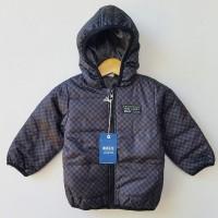 Jacket Winter Anak Laki-laki Bit'z Hoodie Jumper Black