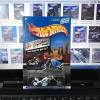 Hotwheels Hot Wheels motor Blast Lane putih Jiffy Lube Signature 26280