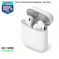 Rearth Ringke AirPods Pro/Airpods1/2 Dust Guard Chrome Plating Sticker