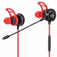 Earphone Gaming For Mobile Legend PUBG - Headset Mic Gaming