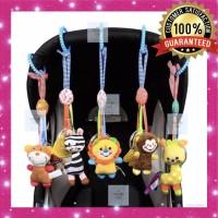 Mainan Bayi Rattle Gantung Stroller Kerincingan / Boneka Bayi