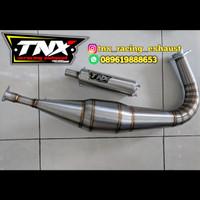 Knalpot RX-King Kolong Drag Ful Stainles TNX Racing Not Creampie Ahau1