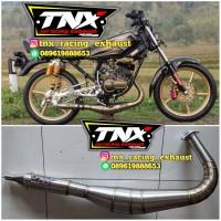 Knalpot RX-King Telo 3V3 Stainless TNX Racing Not Creampie Ahau Cms