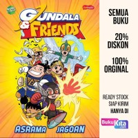 Buku Gundala & Friends : Asrama Jagoan Oleh Bumilangit Comic Media/And
