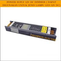 Power supply Dimmable / Dimmer 12V 100W / Trafo LED 12v 100 watt