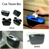 Car Trash Bin / Tempat Sampah Mobil Samping Dashboard/ Car Interior - Hitam