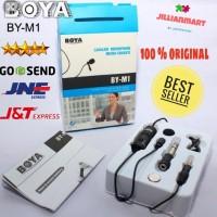 Mic Boya BY-M1 PRO Lavalier Microphone Clip On Smartphone Kamera Vlog