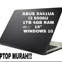 ASUS LAPTOP X441UA - Core i3-7020 -1TB -4GB - 1TB -14 - WIN 10