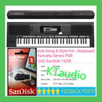USB SONG STYLE KEYBOARD YAMAHA PSR 975 775 670 770 970 920 720