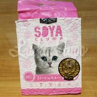 Pasir Gumpal Kucing Import No Dust/Kit Cat Soya Clump 7L
