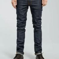 Nudie Jeans Thin Finn Dry Ecru Embo men