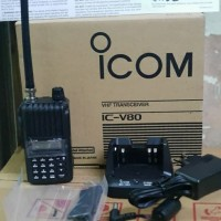 HT Icom V 80 / ICV80 / IC-V80 Lithium VHF handy talky V80